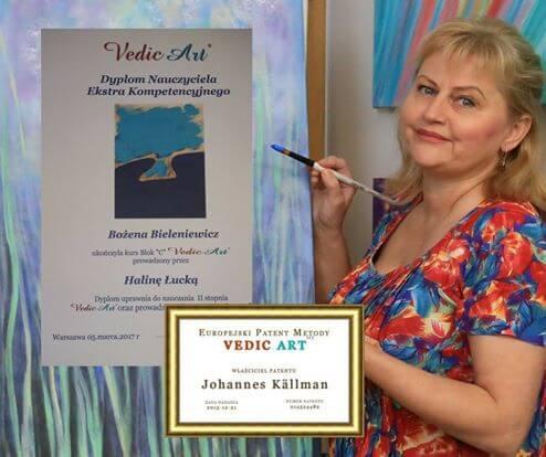 Rekomendowany Nauczyciel Vedic Art - Bożena Bieleniewicz